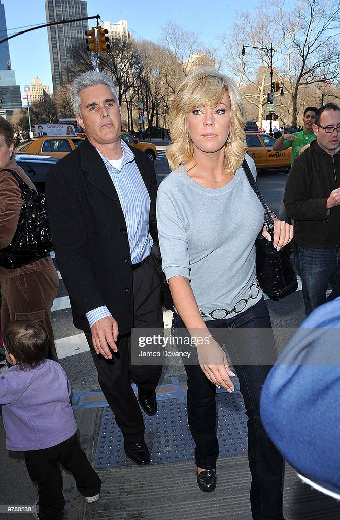 Kate Gosselin Sighting In New York City - March 17, 2010