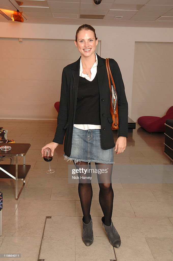 Kate Groombridge during Launch of the Thomasina Miers Cookbook, Entitled 'COOK' at The Hospital in London, Great Britain.