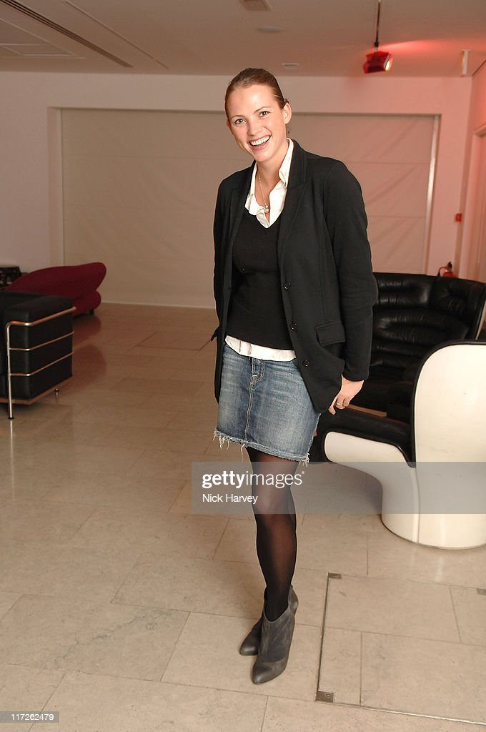 Kate Groombridge during Launch of the Thomasina Miers Cookbook, Entitled COOK at The Hospital in London, Great Britain.