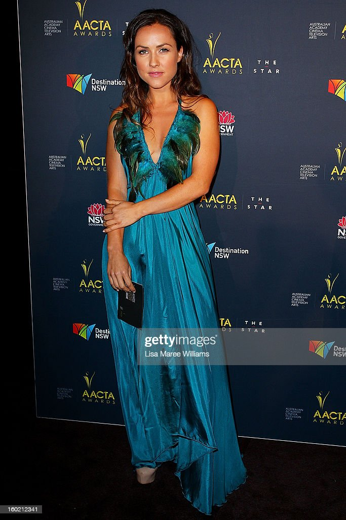 Kate Harper attends the 2nd Annual AACTA Awards Luncheon at The Star on January 28, 2013 in Sydney, Australia.