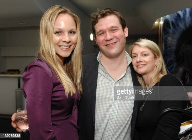 Kate Hubin Todd Nickles and Sarah Greenberg during 'Deliver Us From Evil' Private Screening Hosted by Catherine Keener at The Endeavor Screening Room...