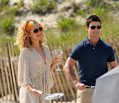 Kate Hudson and Colin Egglesfield on location for 'Something Borrowed' on June 7 2010 in the Queens Borough of New York City