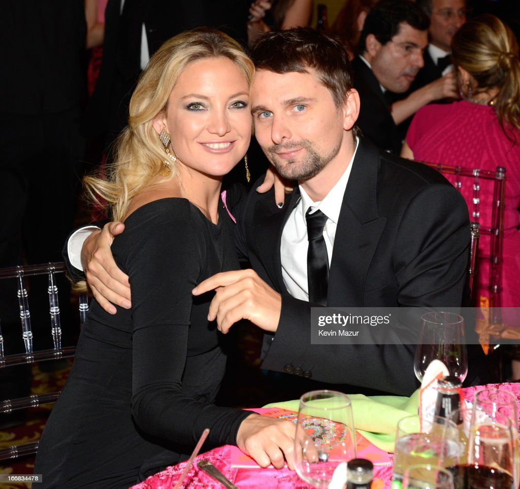 <a gi-track='captionPersonalityLinkClicked' href=/galleries/search?phrase=Kate+Hudson&family=editorial&specificpeople=156407 ng-click='$event.stopPropagation()'>Kate Hudson</a> and Matt Bellamy attend the Breast Cancer Foundation's Hot Pink Party at the Waldorf Astoria Hotel on April 17, 2013 in New York City.