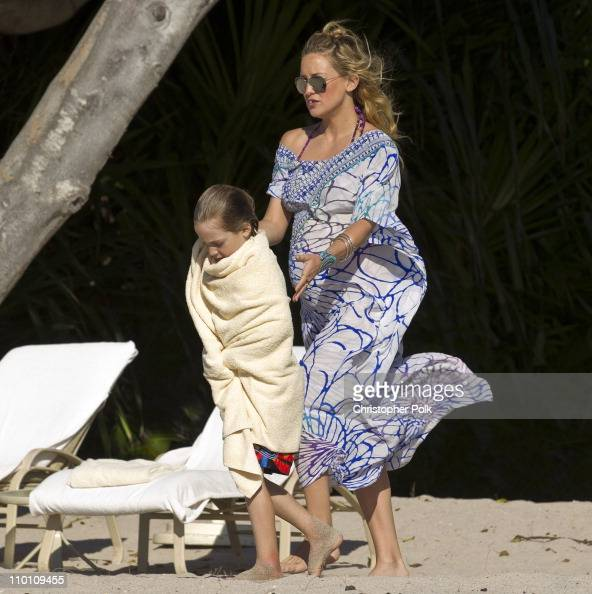 Kate Hudson and son Ryder Robinson vacation in Punta Mita Mexico on March 10 2011