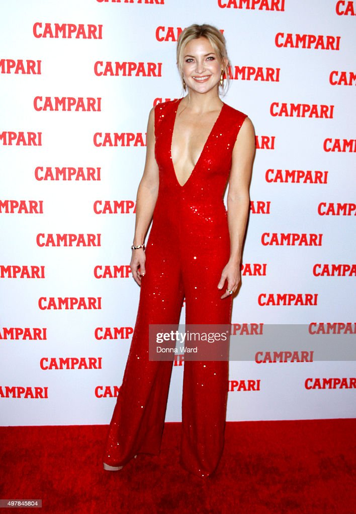 Kate Hudson appears to launch the 2016 Campari Calendar at The Standard Hotel on November 18 2015 in New York City