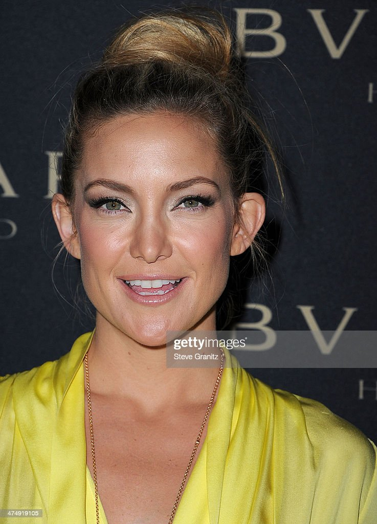 <a gi-track='captionPersonalityLinkClicked' href=/galleries/search?phrase=Kate+Hudson&family=editorial&specificpeople=156407 ng-click='$event.stopPropagation()'>Kate Hudson</a> arrives at the BVLGARI 'Decades Of Glamour' Oscar Party Hosted By Naomi Watts at Soho House on February 25, 2014 in West Hollywood, California.