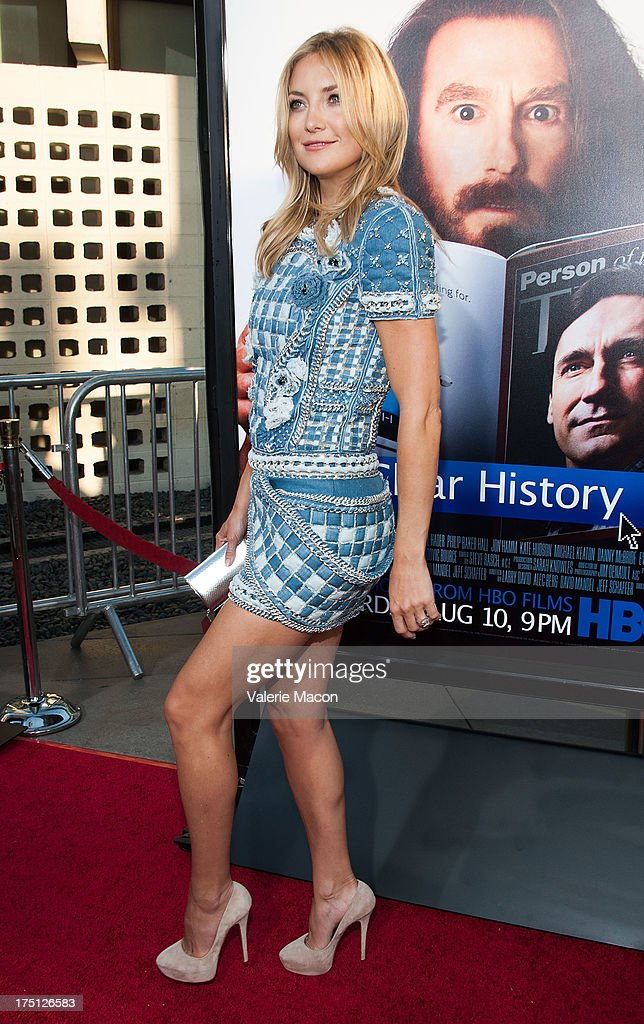 <a gi-track='captionPersonalityLinkClicked' href=/galleries/search?phrase=Kate+Hudson&family=editorial&specificpeople=156407 ng-click='$event.stopPropagation()'>Kate Hudson</a> arrives at the Premiere Of HBO Films' 'Clear History' at ArcLight Cinemas Cinerama Dome on July 31, 2013 in Hollywood, California.