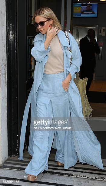 Kate Hudson at BBC Radio 2 on March 4 2016 in London England
