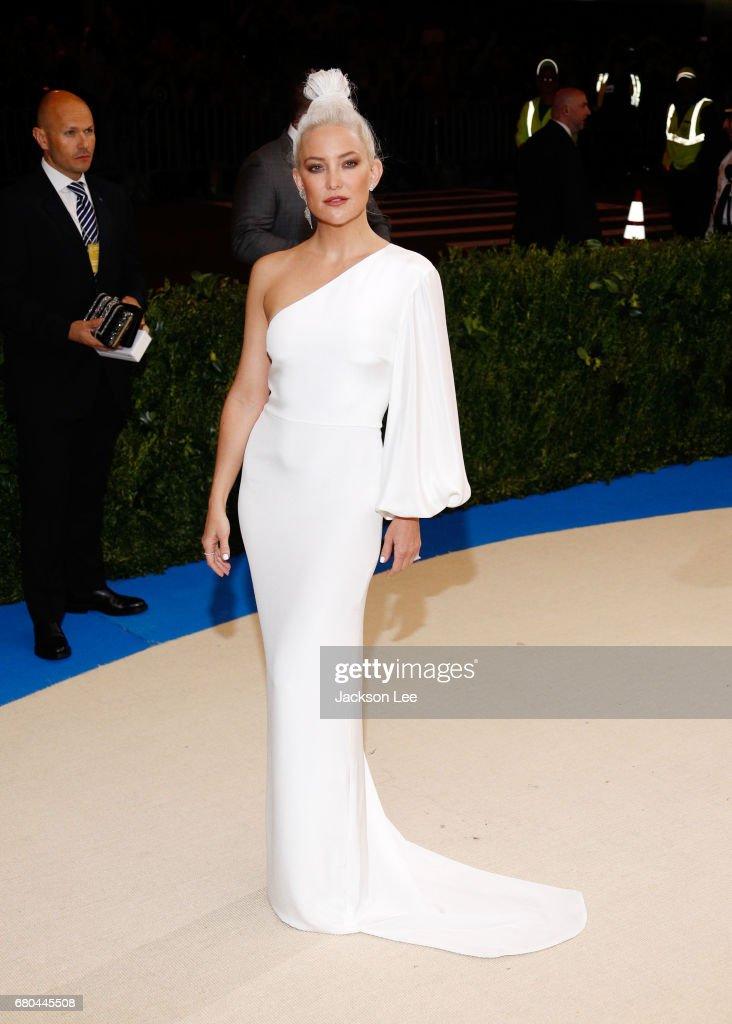 Kate Hudson at 'Rei Kawakubo/Comme des Garçons:Art of the In-Between' Costume Institute Gala at Metropolitan Museum of Art on May 1, 2017 in New York City.