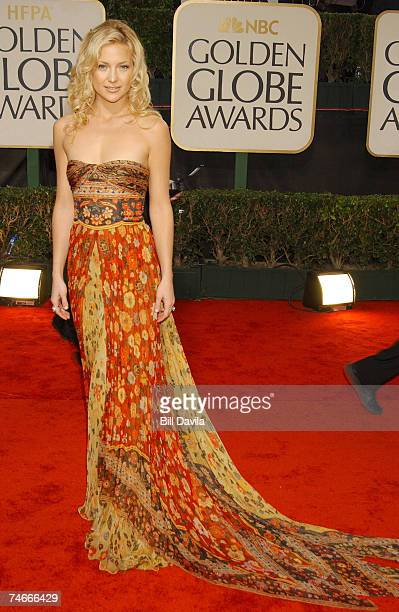 Kate Hudson at the The 60th Annual Golden Globe Awards Arrivals at Beverly Hilton Hotel in Beverly Hills CA