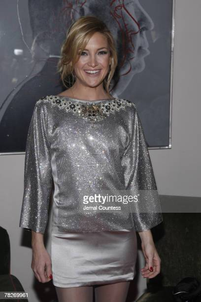 Kate Hudson attends Dolce Gabbana's 'The One' Fragrance Launch and Private Dinner at The Grammercy Park Hotel on December 4 2007 in New York City