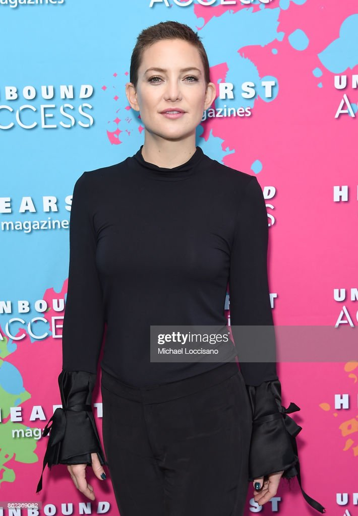 Kate Hudson attends Hearst Magazines' Unbound Access MagFront at Hearst Tower on October 17, 2017 in New York City.