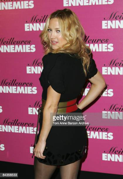 Kate Hudson attends the 'Bride Wars' photocall at the George V Hotel on January 19 2009 in Paris France