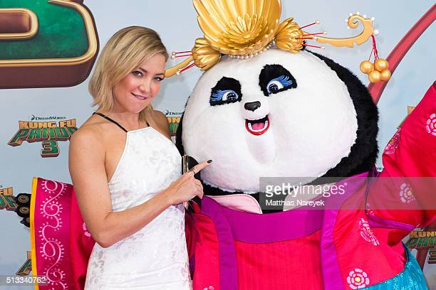 Kate Hudson attends the German premiere of the film 'Kung Fu Panda 3' at Zoo Palast on March 2 2016 in Berlin Germany