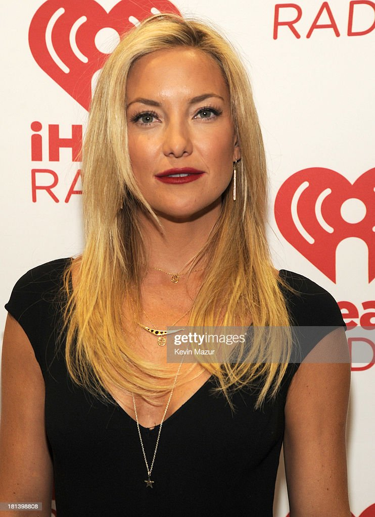 Kate Hudson attends the iHeartRadio Music Festival at the MGM Grand Garden Arena on September 20, 2013 in Las Vegas, Nevada.