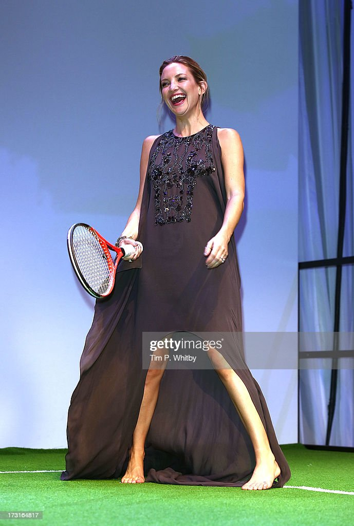 Kate Hudson attends the Novak Djokovic Foundation inaugural London gala dinner at The Roundhouse on July 8, 2013 in London, England. The foundation supports vulnerable and disadvantaged children, especially in Djokovic's native Serbia.
