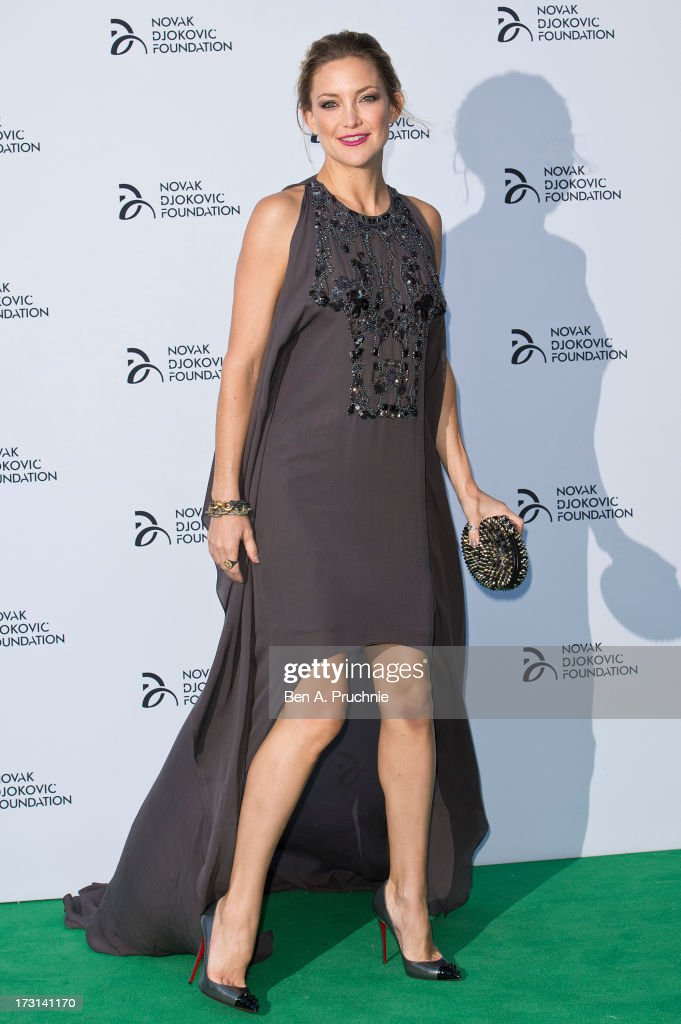 Kate Hudson attends the Novak Djokovic Foundation London gala dinner at The Roundhouse on July 8, 2013 in London, England.