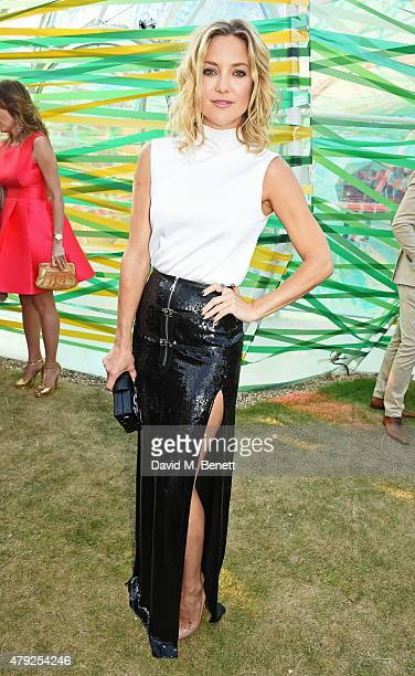 Kate Hudson attends The Serpentine Gallery summer party at The Serpentine Gallery on July 2 2015 in London England