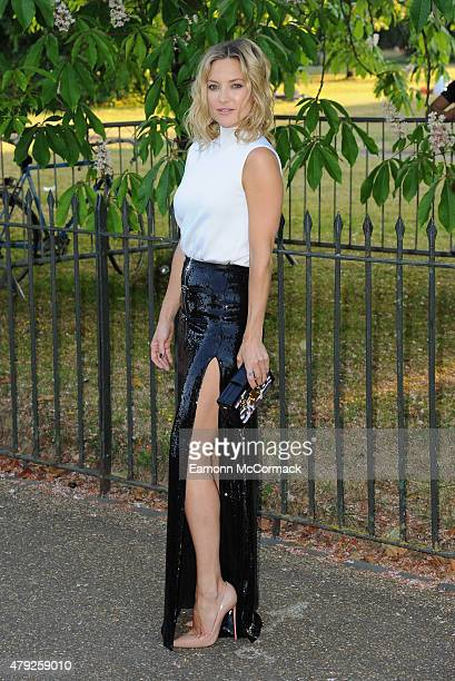 Kate Hudson attends The Serpentine Gallery Summer Party on July 2 2015 in London England
