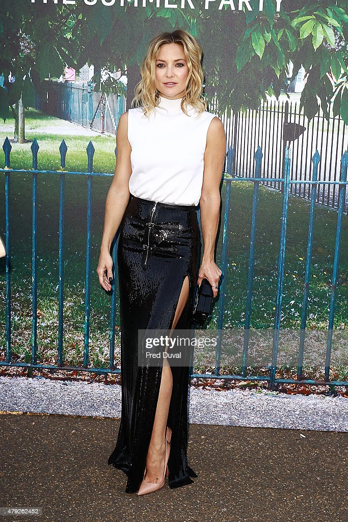 Kate Hudson attends the Serpentine Summer Party at The Serpentine Gallery on July 2 2015 in London England