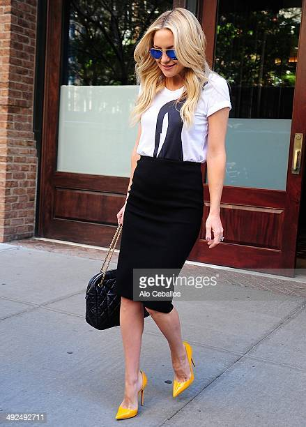 Kate Hudson is seen in Tribeca on May 20 2014 in New York City