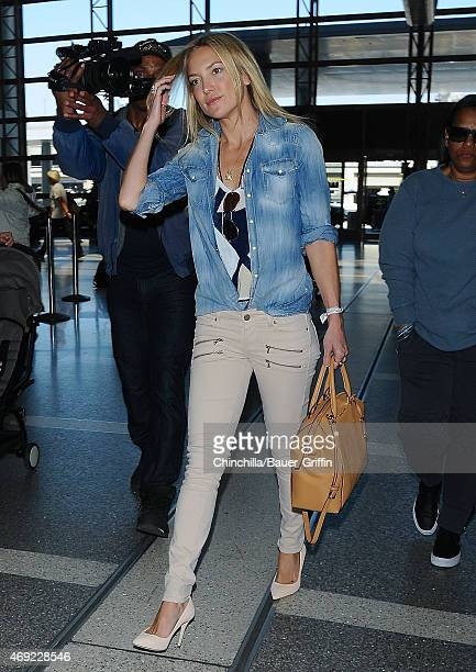 Kate Hudson is seen on April 10 2015 in Los Angeles California