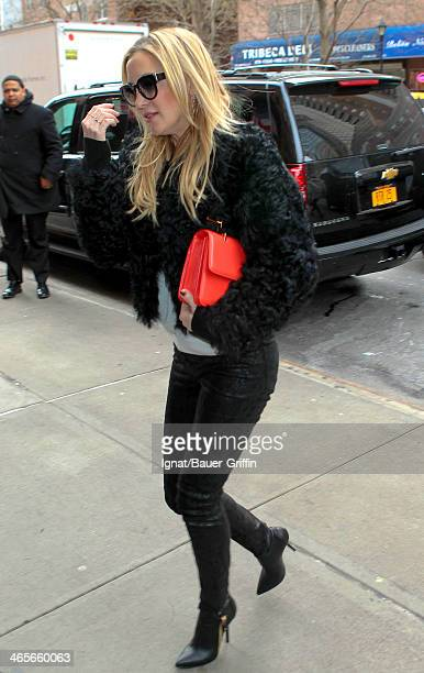 Kate Hudson is seen on January 28 2014 in New York City