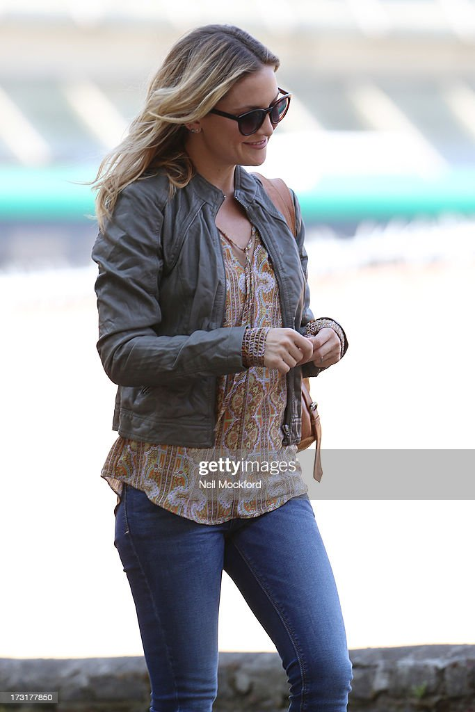 Kate Hudson on the Film Set of 'Good People' on July 9, 2013 in London, England.