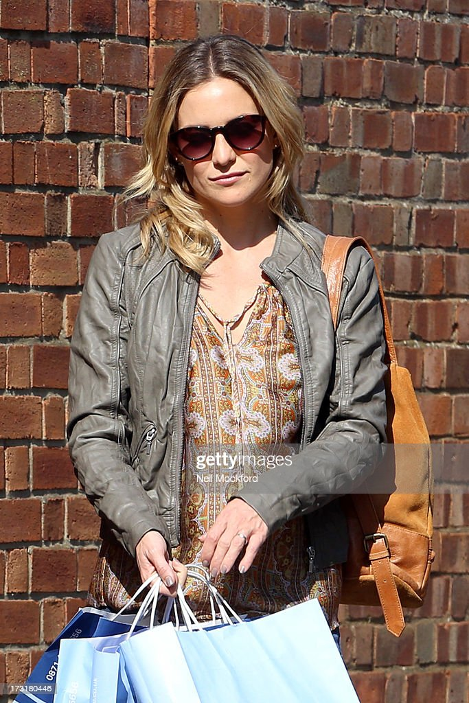 <a gi-track='captionPersonalityLinkClicked' href=/galleries/search?phrase=Kate+Hudson&family=editorial&specificpeople=156407 ng-click='$event.stopPropagation()'>Kate Hudson</a> on the Film Set of 'Good People' on July 9, 2013 in London, England.