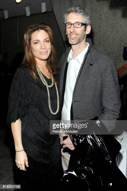 Kate Krone and Stretch Armstrong attend WHITNEY BIENNIAL 2010 VIP Preview at The Whitney Museum on February 23 2010 in New York City