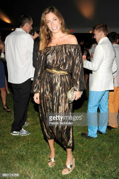 Kate Krone attends ACRIA's Annual 'Cocktails at Sunset' Presented by Calvin Klein Collection Vanity Fair at Private Residence on July 18 2009 in...