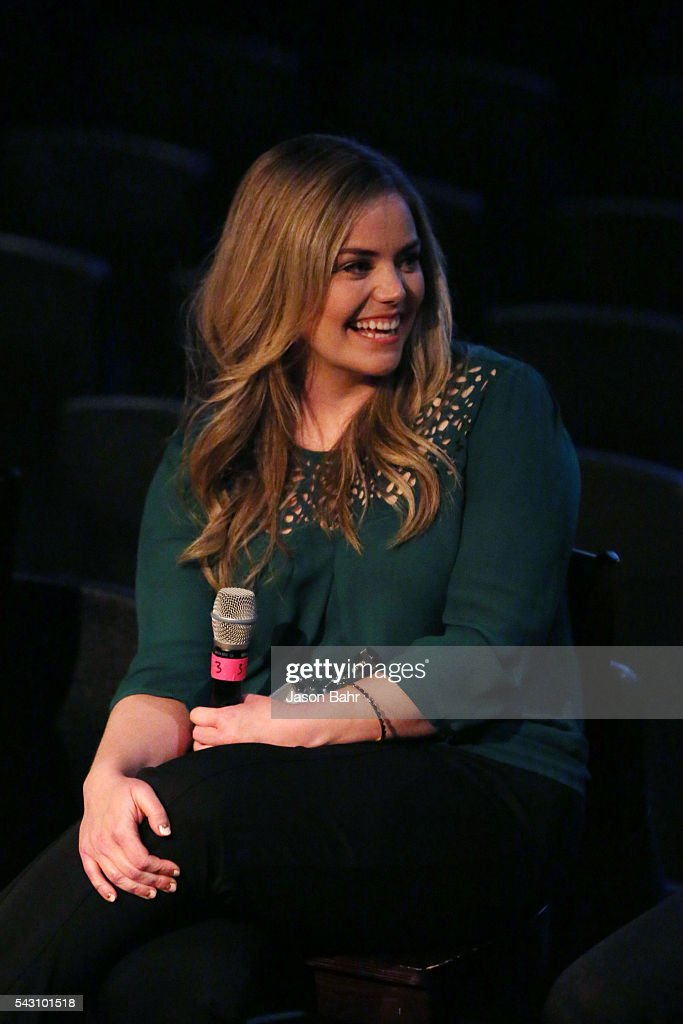 Kate Lambert smiles during the SeriesFest: Season Two 'From Web to