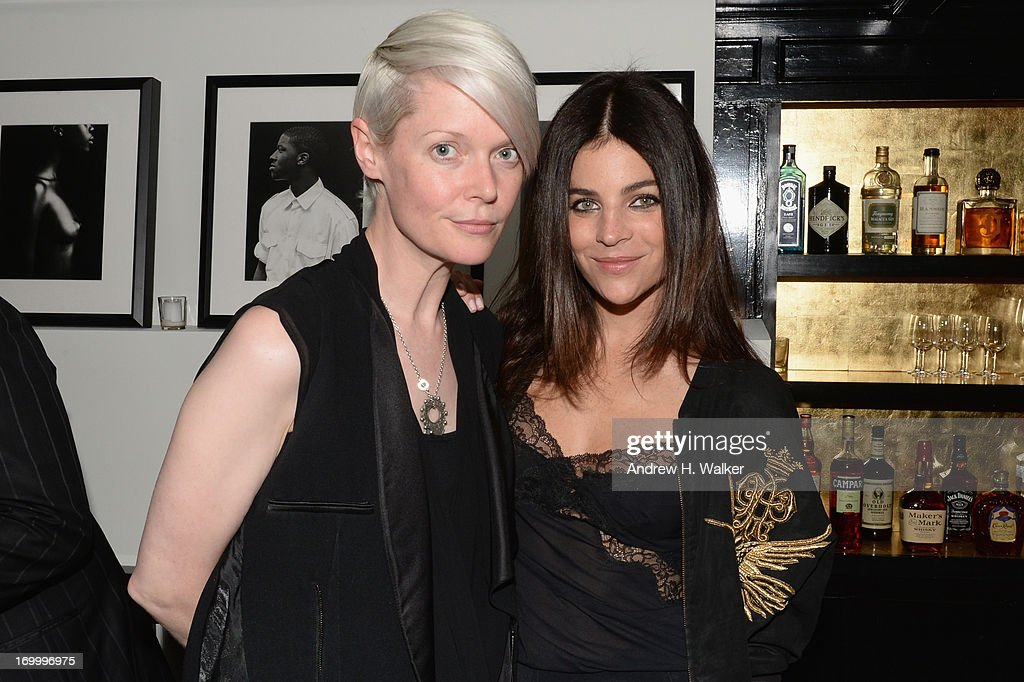 Kate Lanphear and Julia Restoin Roitfeld attend the Casadei dinner at Omar's, hosted by Julia Restoin Roitfeld and Cesare Casadei celebrating Resort 2014 at on June 5, 2013 in New York City (Photo by Andrew H. Walker/Getty Images for Casadei).