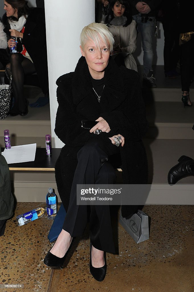 Kate Lanphear attends Costello Tagliapietra duringFall 2013 MADE Fashion Week at Milk Studios on February 7, 2013 in New York City.