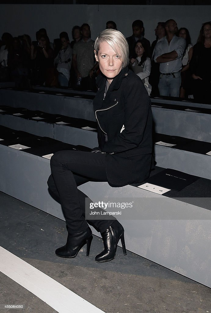 Kate Lanphear attends Marc By Marc Jacobs during MercedesBenz Fashion Week Spring 2015 at Pier 94 on September 9 2014 in New York City