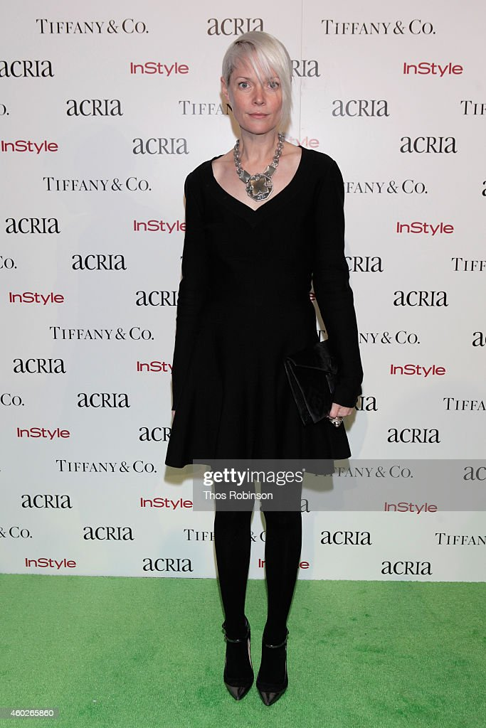 Kate Lanphear attends the 19th Annual ACRIA Holiday Dinner at Skylight Modern on December 10 2014 in New York City