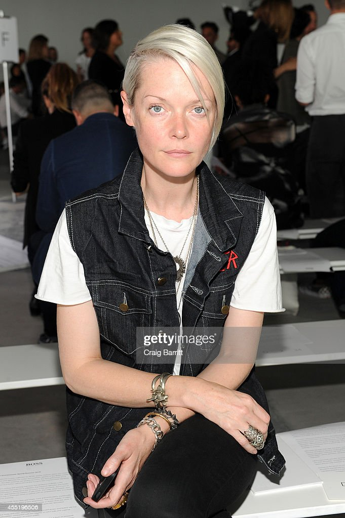 Kate Lanphear attends the Boss fashion show during MercedesBenz Fashion Week Spring 2015 on September 10 2014 in New York City