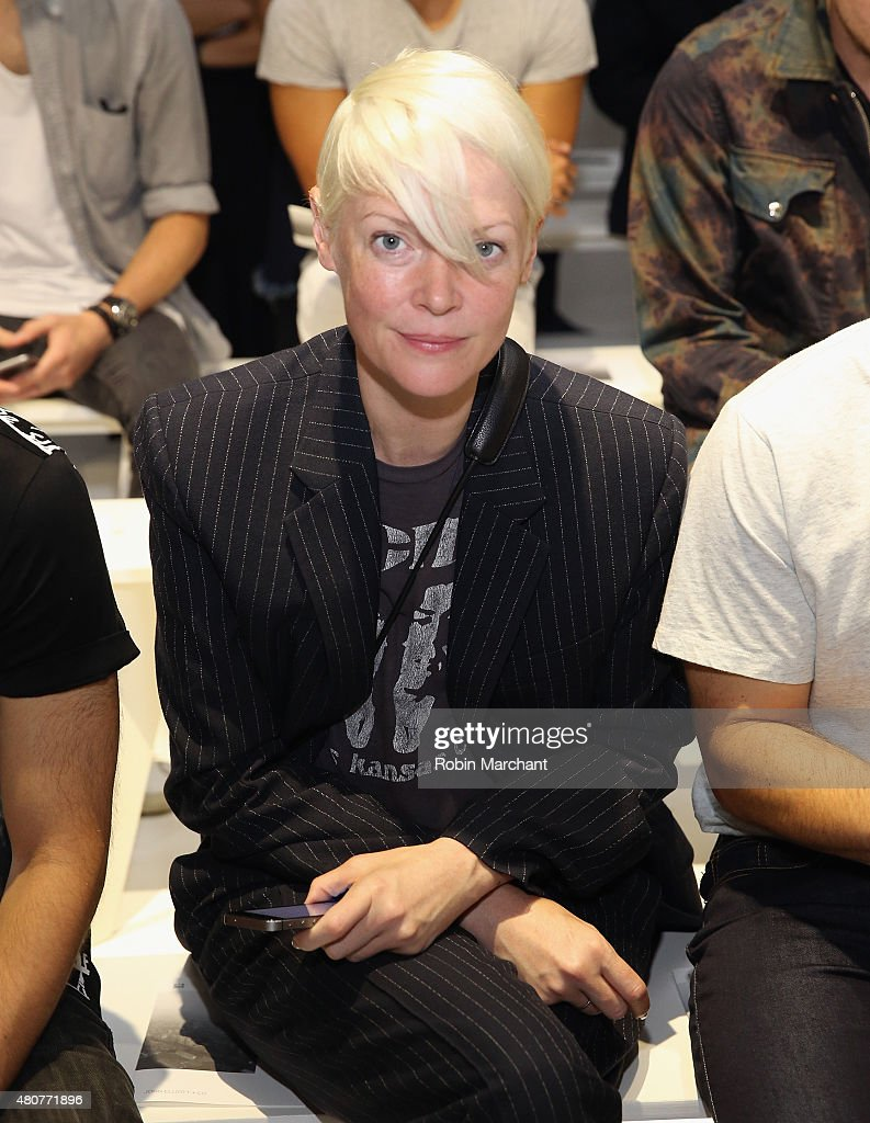Kate Lanphear attends the John Elliott CO Show during New York Fashion Week Men's S/S 2016 at Skylight Clarkson Sq on July 15 2015 in New York City