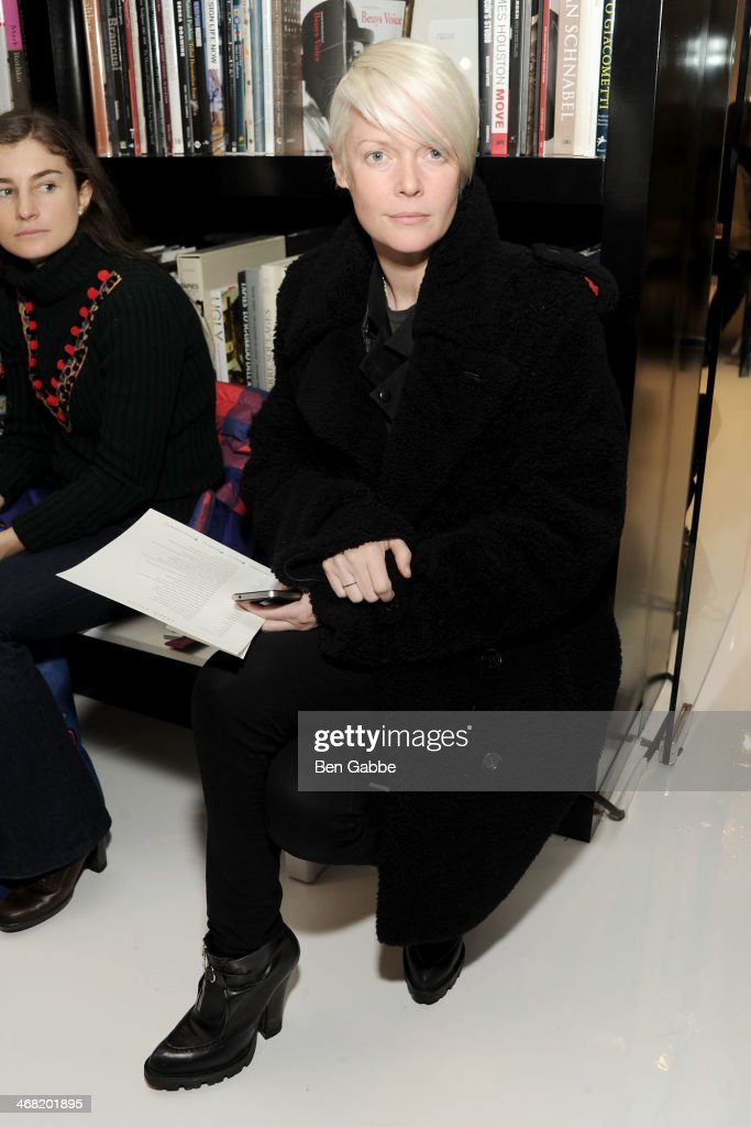 Kate Lanphear attends the Ralph Rucci fashion show during MercedesBenz Fashion Week Fall 2014 on February 9 2014 in New York City