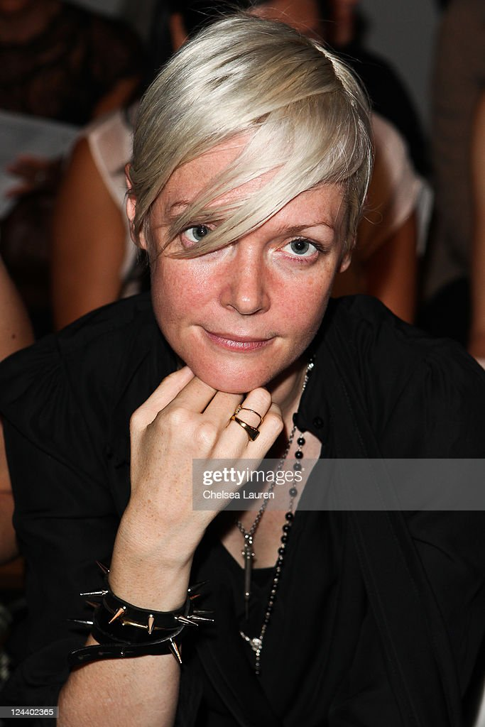 Kate Lanphear of ELLE attends the DooRi Spring 2012 fashion show during MercedesBenz Fashion Week at Eyebeam Art Technology Center on September 9...