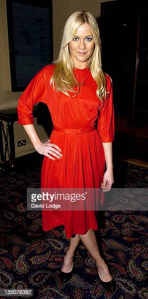 Kate Lawler during Cystic Fibrosis Trust Breathing Life Awards Arrivals at Royal Lancaster Hotel in London Great Britain