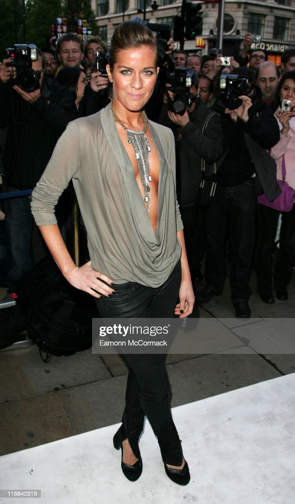 Kate Lawler during The Perfume Shop/LK High Street Fashion Awards - Outside Arrivals at Cafe de Paris in London, Great Britain.
