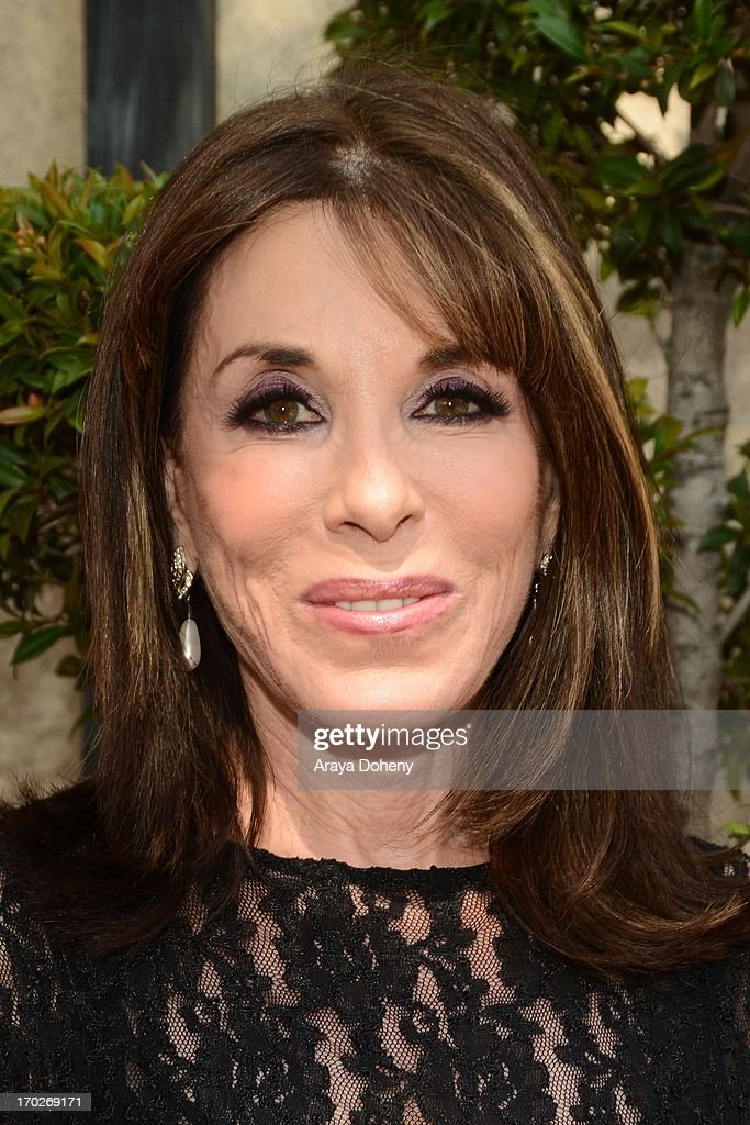 <a gi-track='captionPersonalityLinkClicked' href=/galleries/search?phrase=Kate+Linder&family=editorial&specificpeople=213145 ng-click='$event.stopPropagation()'>Kate Linder</a> arrives at The Actors Fund 17th Annual Tony Awards Viewing Party held at Taglyan Cultural Complex on June 9, 2013 in Hollywood, California.