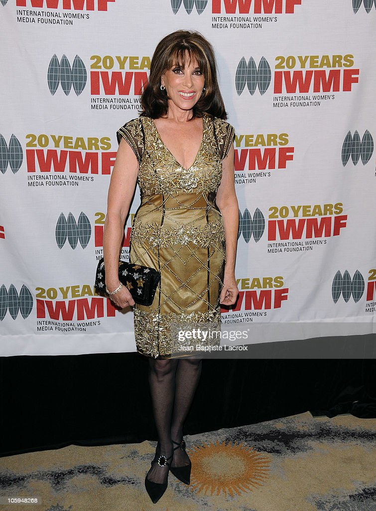 Kate Linder arrives at The International Women's Media Foundation's 'Courage In Journalism' awards held at Beverly Hills Hotel on October 21, 2010 in Beverly Hills, California.