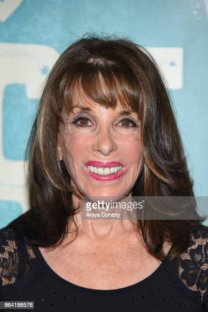 Kate Linder attends the opening night of 'Bright Star' at Ahmanson Theatre on October 20 2017 in Los Angeles California