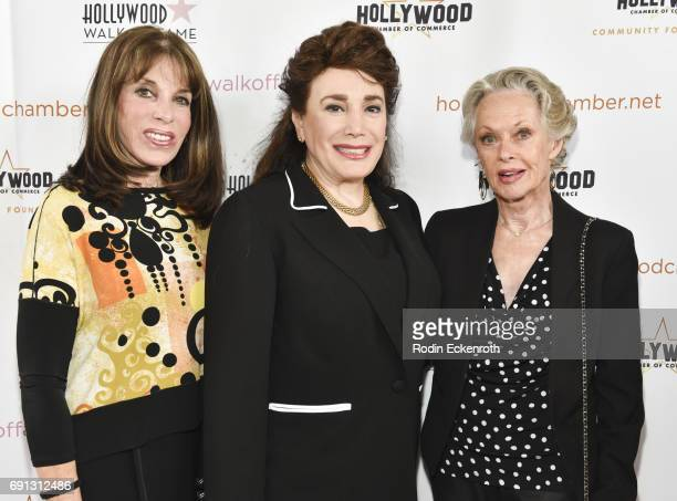 Kate Linder Donelle Dadigan and Tippi Hedren attend The Heroes Of Hollywood Award Luncheon at Taglyan Cultural Complex on June 1 2017 in Hollywood...