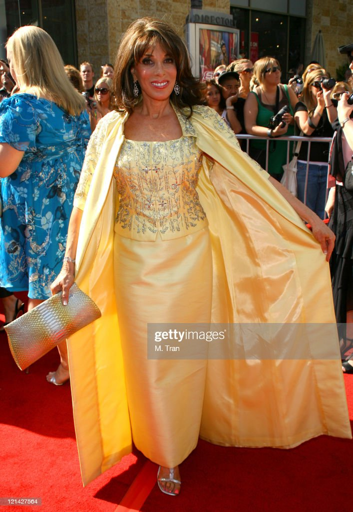 Kate Linder during 34th Annual Daytime Emmy Awards Arrivals at Kodak Theatre in Hollywood California United States