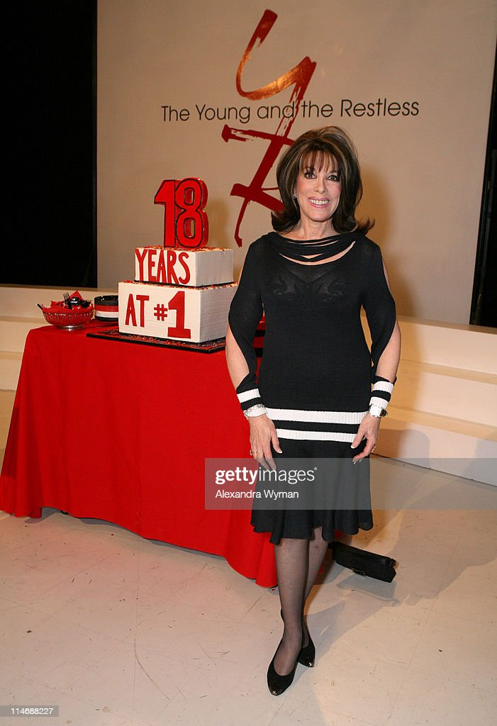Kate Linder during 'The Young and the Restless' is the TopRated Daytime Drama for the 939th Consecutive Week 18 Years on Top at CBS Television City...