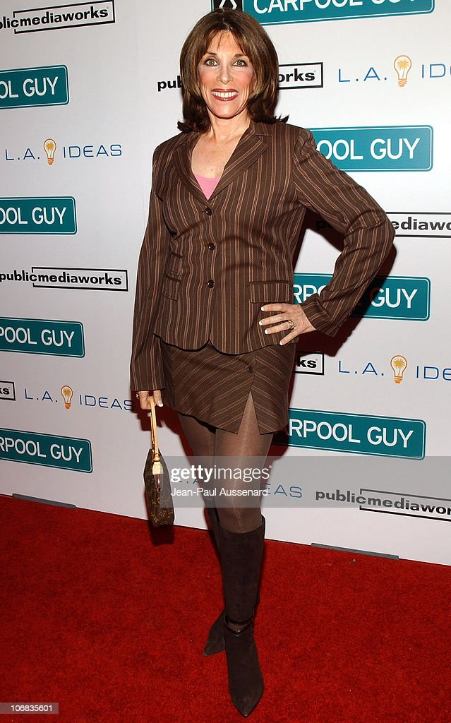 Kate Linder during World Premiere of The Public Media Works Independent Feature Film 'Carpool Guy' Arrivals at The ArcLight in Hollywood California...