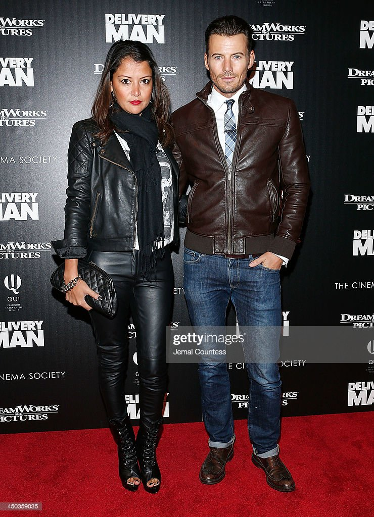 Kate Lundquist and Alex Lundquist attend the screening of 'Delivery Man' hosted by DreamWorks Pictures and The Cinema Society at Paley Center For Media on November 17, 2013 in New York City.